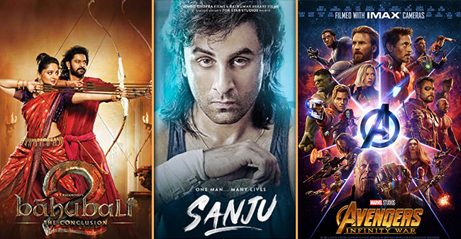 Movies That Created A buzz By Bagging The Highest Number Of Advance Booking