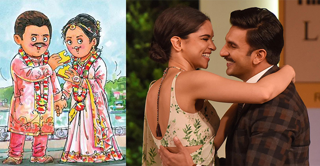 Amul's Wish For Deepika Padukone And Ranveer Singh Is Too Cute For Words