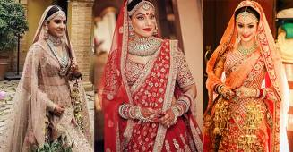 Gorgeous Bollywood divas who opted to wear Sabyasachi attire at their wedding