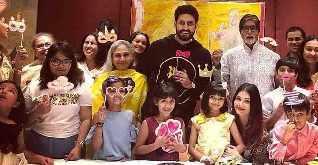 Aaradhya Bachchan Turns 7 And Bachchan's Celebrated It With A Cute Little Party