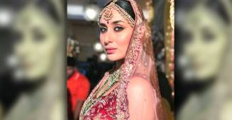 Kareena Kapoor Looks Spectacular in her New Bridal Photo-shoot; See Pics