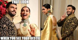 Even The Memes Of DeepVeer's Wedding Reception Pictures Are Adorable And We Love It