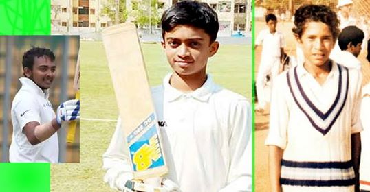 Some young Indian players who set great records on the cricket ground is unbelievable