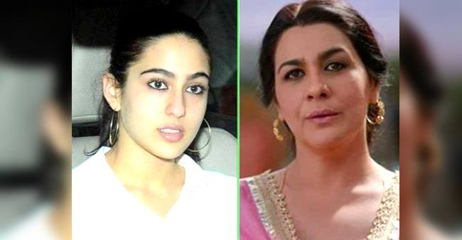While Amrita Singh Made Her Way To B-Town On Her Own Way, Sara's Entry In Films Was Quite Easy