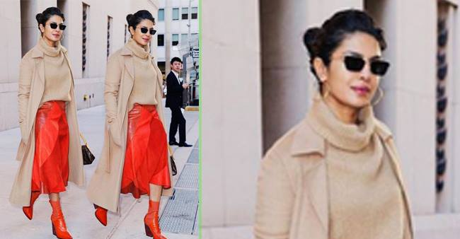 Priyanka Chopra's exorbitant red skirt price will leave your jaw-drops