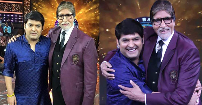 Big B gives a golden advice to Kapil Sharma for having a successful married life
