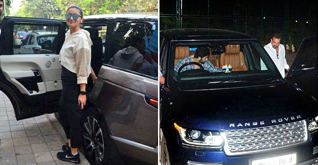 Famous Celebrities who are in Love with their Luxurious Range Rover Vogue