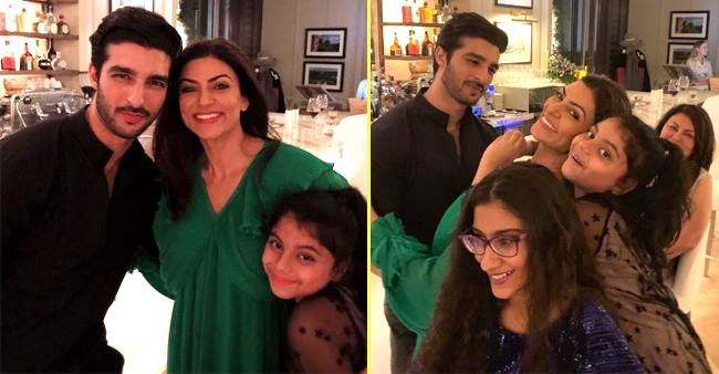 Sharing The Birthday Pictures With Boyfriend And Family, Sushmita Sen Called Them Perfect