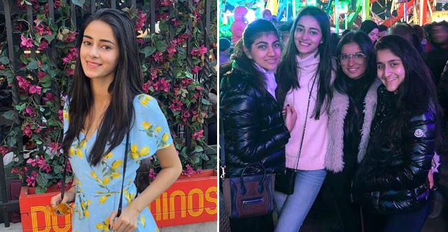 Ananya Panday Enjoying Her Vacation at London, With Her True Love Hot Chocolate