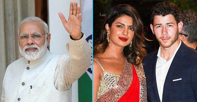 PM Modi Is Likely To Attend The Wedding Of Priyanka Chopra And Nick Jonas