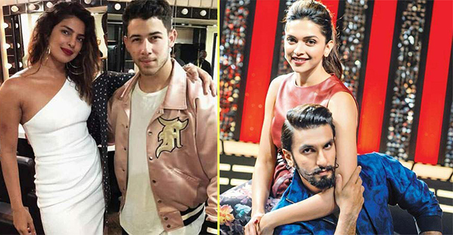 Net-Worth of star couples Deepika-Ranveer and Nick-Priyanka will blow your mind