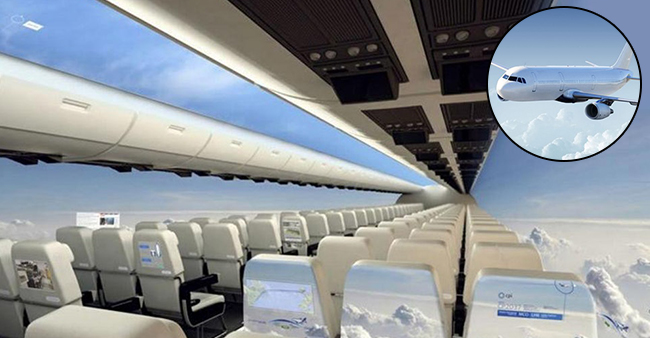 The New Plane Invention Is On Its Way Where Every Passenger Will Have Window Seat