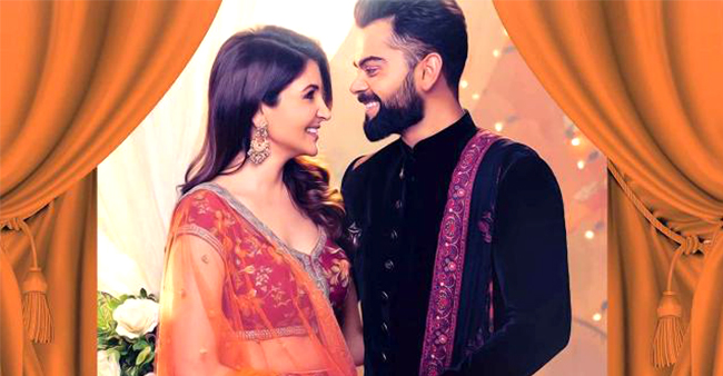 Virat And Anushka To Head For A Romantic Gateway To ring In Their First Wedding Anniversary