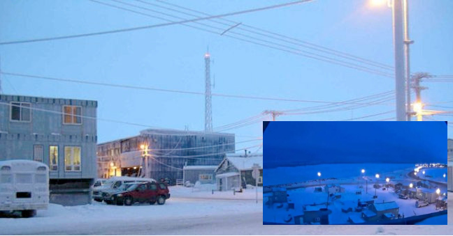 A Town In Alaska Descend Into 65 Days Of Darkness After The Sunset That Happened Last Week