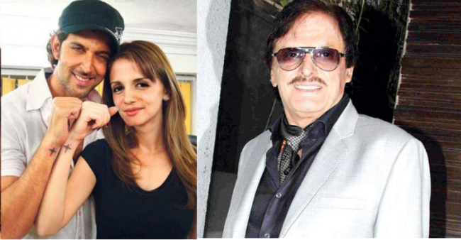 Sanjay Khan Hopes Hrithik And Sussanne Work out Their Differences And Get Back Together