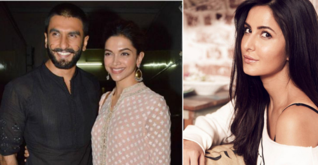 Deepika And Ranveer Extend Their Wedding Reception Invitation To Katrina And We Are Amused