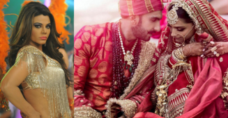Rakhi Sawant makes headlines yet again, calls DeepVeer's wedding a Sabyasachi Catalog Photoshoot