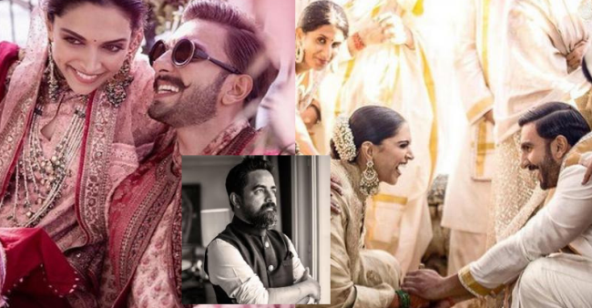 Sabyasachi Shares The Making Of DeepVeer's Wedding Outfits And We Can't Stop Drooling