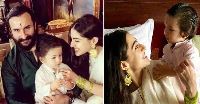 Taimur calls Sara Ali Khan as Gol, she doesn't know the reason behind it