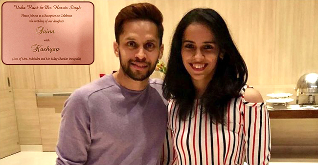 Saina Nehwal and Parupali Kashyap's Wedding Invites are simply beautiful