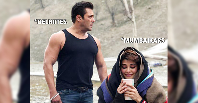 Twitter Just Couldn't Stop LOLing When Delhiites Made Fun Of Mumbai Winters