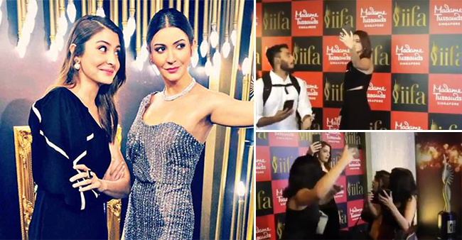 Anushka Sharma Turns A Prankster Poses Like A Statue, Reactions Of Fans Are Worth Watching