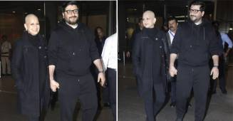 Sonali Bendre Back In Town With Hubby Goldie Behl, Recovering Well