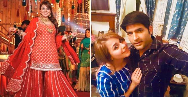 Kapil Sharma's Ladylove Ginni Looks Gorgeous In Red At Her Bangle Ceremony
