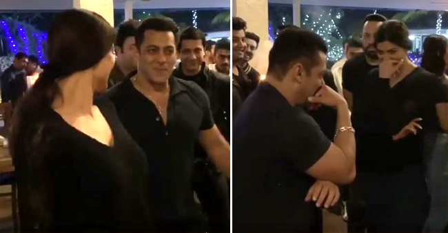 Salman Khan's Elvish Dance Steps With Sushmita Sen Is The Best Thing On Internet Today