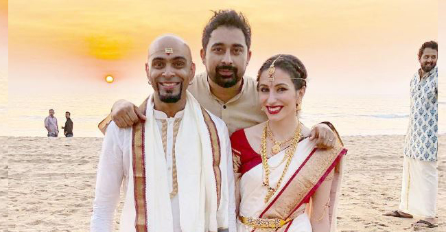 Roadies fame Raghu Ram and Natalie get married in a beautiful destination wedding