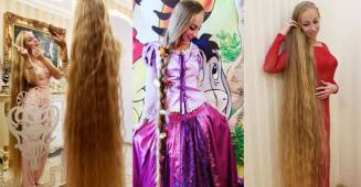 Meet this real life Rapunzel who did not cut her hair since 28 years, her pics are beautiful