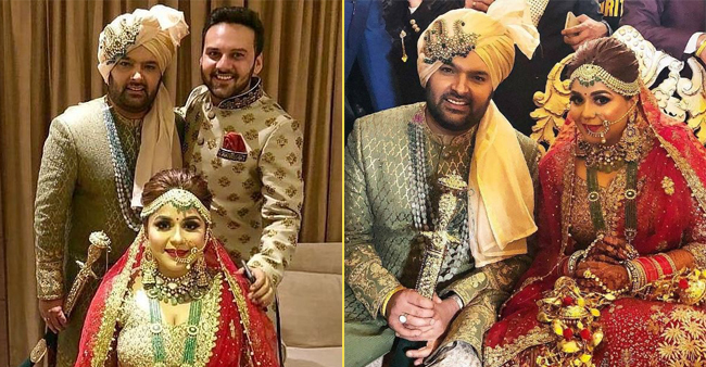 All The Inside Pictures of Kapil and Ginni's wedding, they are simply beautiful