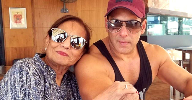 Mother Salma Wants Salman Khan To Achieve Six-Pack Body As New Year Resolution