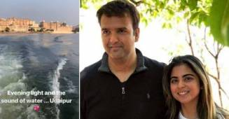 Isha Ambani's Pre-Wedding Festivities to start with a Maha Aarti in Udaipur, first pics out