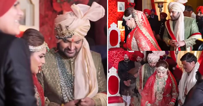 Kapil Sharma Shares The First Dreamy Wedding Video Post Marriage With Ginni Chatrath