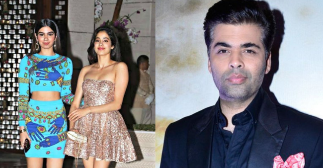 After Janhvi, Khushi All Set To Enter Bollywood, Karan Johar Confirms Launching Her Soon