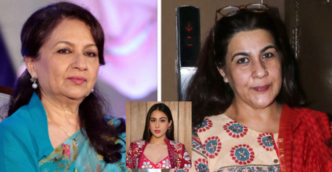 Sharmila Tagore Got In Touch With Former Daughter-In-Law Amrita After Years Because Of Sara