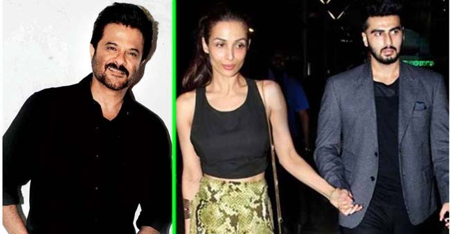 Arjun and Malaika gets a green signal for their relationship by Chachu Anil Kapoor