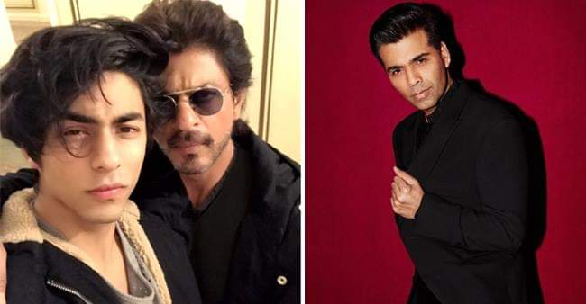 SRK Spills Beans On Aryan's B'Town Debut And Karan Johar's Role In Launching Him