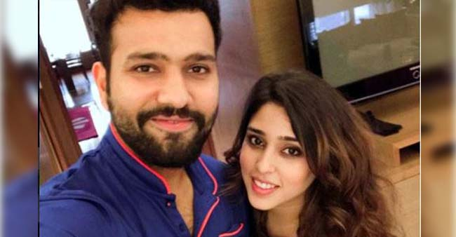 Cricketer Rohit Sharma And Wife Ritika Are New Parents In Town, Blessed With A Baby Girl