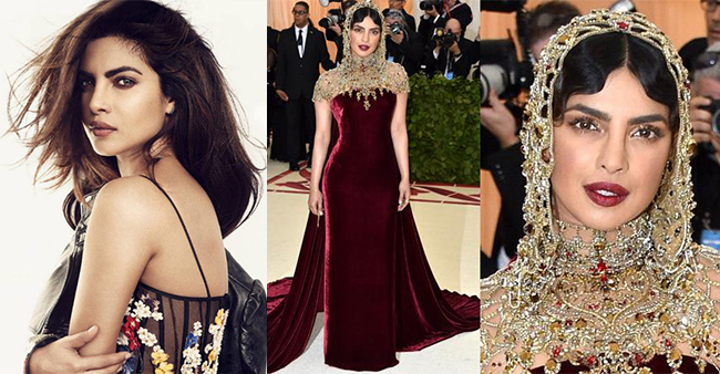 Times When Priyanka Chopra's Extravagant Looks Simply Blew Our Mind