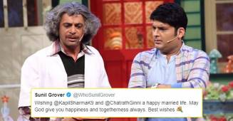 Sunil Grover congratulates Kapil Sharma for his wedding, Kapil's reply is unmissable