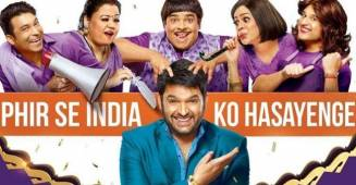 The Kapil Sharma Show Open Up With A Bang,  Leads the TRP charts