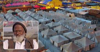 Mohammad Mehmood aka Mullah Ji Has been Illuminating Tents At Kumbh Mela For past 3 Decades