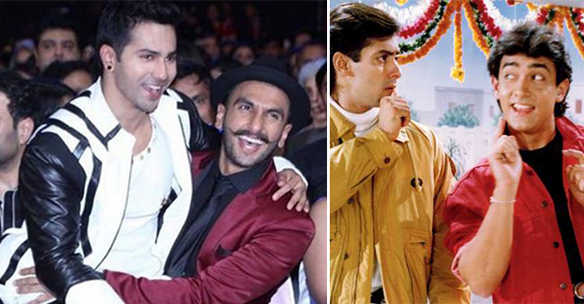 Ranveer Singh and Varun Dhawan are Likely To Star in the Sequel of Andaz Apna Apna