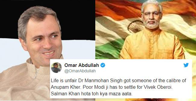 Omar Abdullah Takes A Jibe At Vivek Oberoi Playing The Major Role Of PM Modi