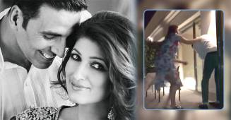 This hilarious video of Twinkle and Akshay's 18th wedding anniversary will make you go LOL