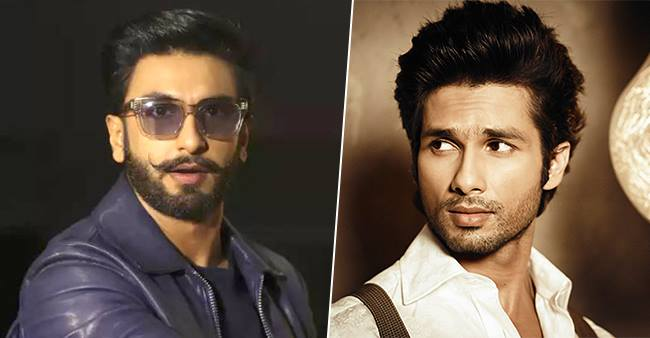 Ranveer Singh Clarifies On Having Cold Vibes Between Him And Shahid Kapoor