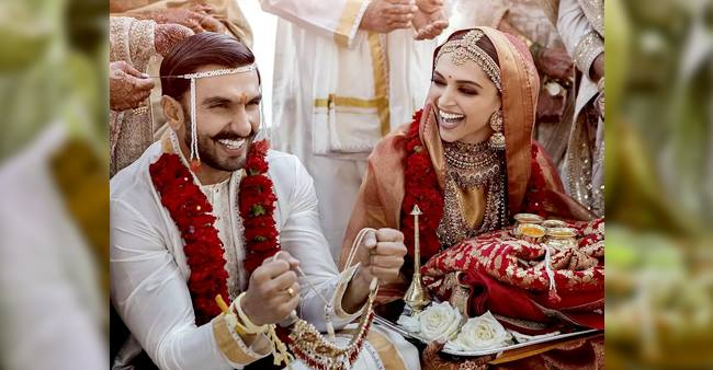 Deepika Finally Spills Beans On The Rumors About Ranveer Changing His Surname Post Wedding