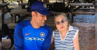 Caption Cool, MS Dhoni Is Gem Of A Person, His Sweet Gesture For 87 YO Lady Is Commendable